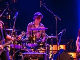 jonge band treedt op tijdens een festival van Westland Cultuurweb in het westland