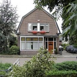 foto van de buitenzijde van het woonhuis van B&B Verdonk in het Westland